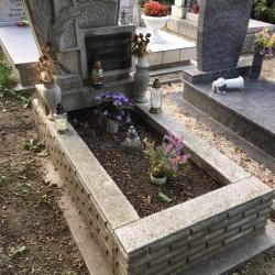 régi sírkő felújítás utána