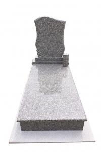Brown Star szimpla sírkő