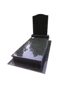 Verde Bahia szimpla sírkő