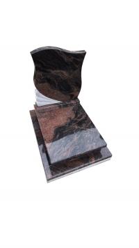 Auróra gránit urna sírkő