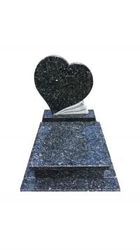 Labrador Blue gránit urna sírkő