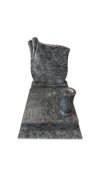 Olive Green gránit urna sírkő