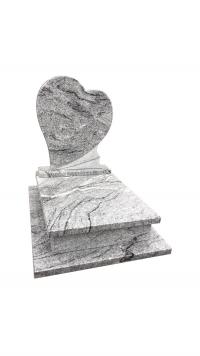 Viscount White gránit urna sírkő